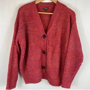 Wild Fable cardigan oversized colorful buttons